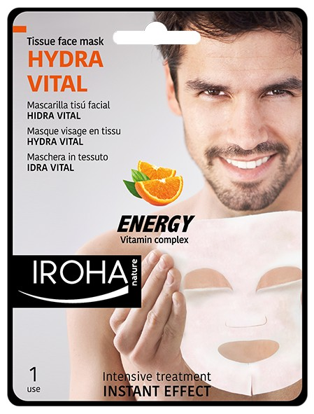Мъжка маска с витамини