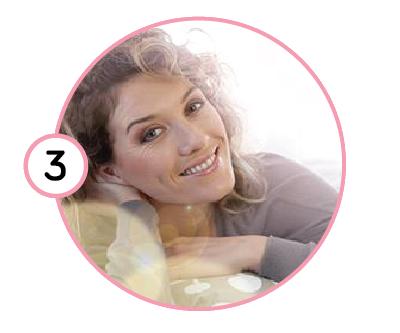 Начин на употреба на маска за лице, стъпка 3