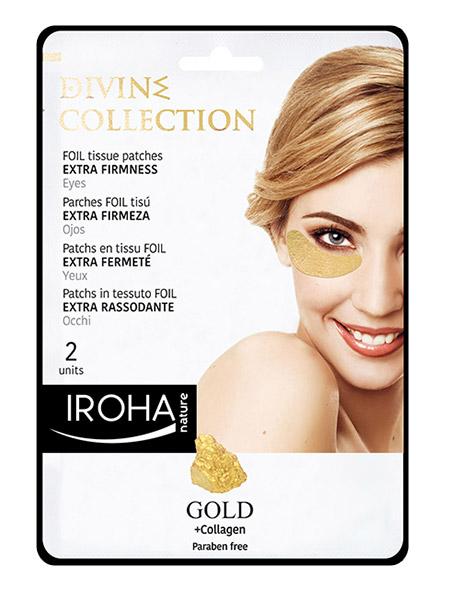 Златни стягащи пачове за очи с 24К злато