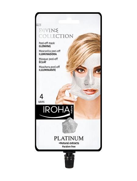 Платинена Peel-off стягаща маска за лице с хиауронова киселина